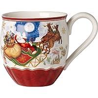 Villeroy & Boch 14-8332-4858 Tazón Toys Fantasy, Motivo Vuelo de Santa