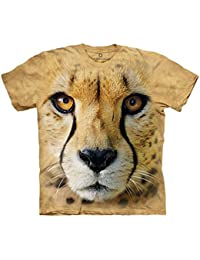 The Mountain Unisexe Enfant Animalier Tete Guepard T Shirt