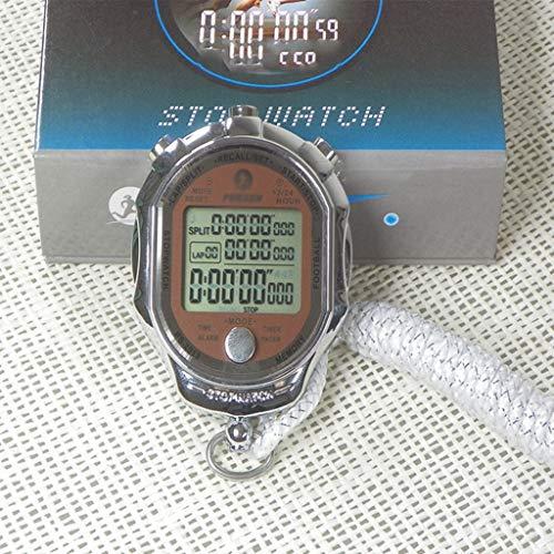DYHOZZ Cronómetro Precisión Cronómetro Metal Temporizador