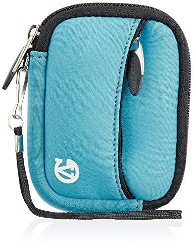 Vangoddy VGMGlovePWZ Mini Handschuh Soft Series Kameratasche mit abnehmbarem Handgelenk, Pink/Weiß, himmelblau Cyber-shot Soft Case