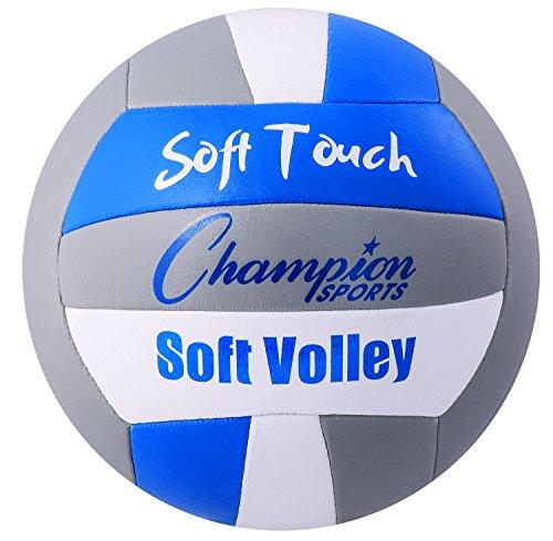 Champion Sports Soft Touch Gummi Volleyball Soft-touch-gummi