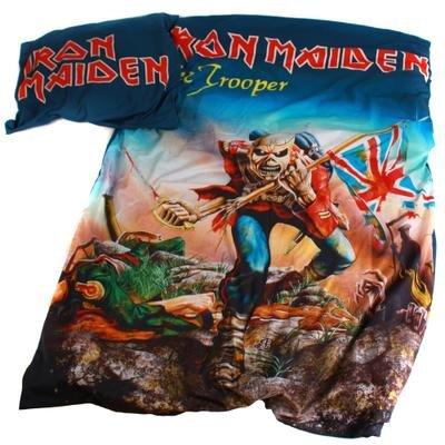 Iron maiden BLIM1 cotton bed linen 135 x 200 x 1 cm, multi coloured