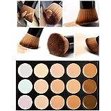 Tongshi 15 colores de maquillaje cepillo del maquillaje Corrector Contorno + Paleta