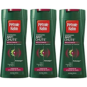 Petrole Hahn Shampooing Antichute 250 ml. Lot de 3