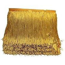 Yalulu - Cortina de 10 metros de flecos latinos con encaje para costura o baile,