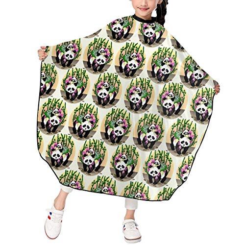 Kostüm Mime Girl - Girl Panda Green Bamboo Bear Barber Hairdresser Stylist Haircut Salon Hair Stylist Hairdresser Haircut Cutting Kid Children Decor Decorations Ornament Printed Theme
