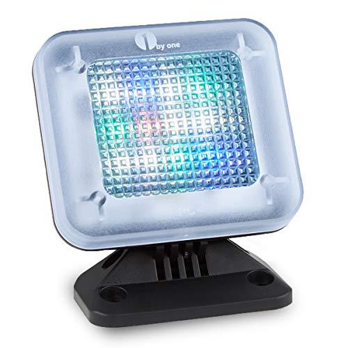 1 BY ONE TV Simulator LED Fernseh-Atrappe, Fake-Fernseher durch Lichtsimulation zum Einsatz als Einbruchschutz, Home-Security