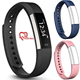 Best Coolest Men's Watches - fbandz Altum ID115 Fitness Band Excercise Tracker Smartwatch Review
