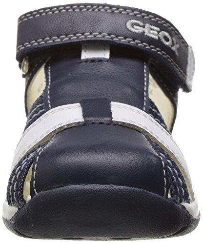 Geox B Each Boy D, Scarpe Primi Passi Bimbo Blu (NAVY/WHITEC4211)