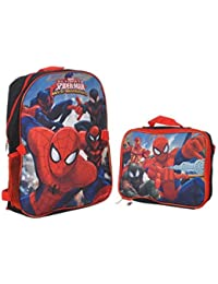 "Spider-Man ""Web Hero"" Backpack With Lunchbox - Black/multi, One Size"