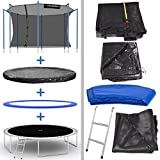 Kinetic Sports Outdoor Trampolin 425 cm - 6