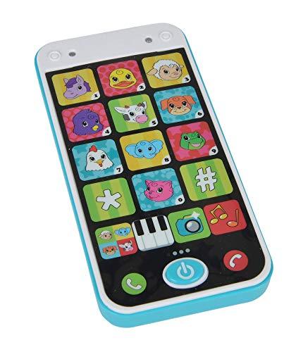 Simba 104010002 104010002-ABC Smart Phone, 14 cm