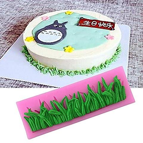 Papillon Fondant en silicone Moule à sucre pour décoration de gâteaux Grass