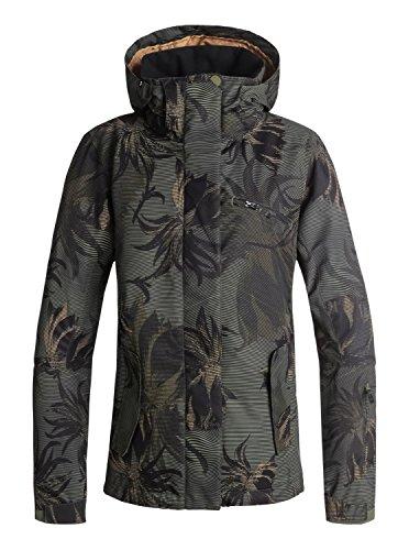 Roxy Jetty - Snow Jacket for Women - Snow Jacke - Frauen - L - Grün