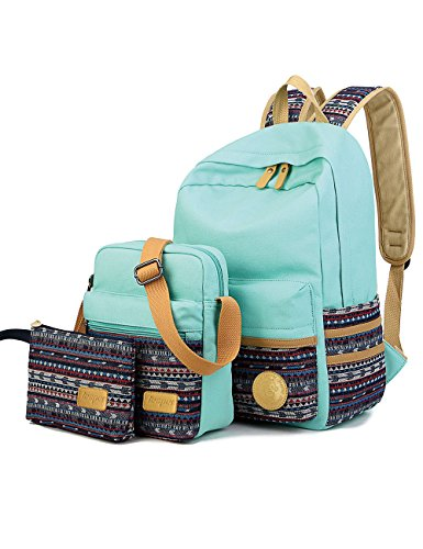 leaper-girls-and-boys-lightweight-canvas-casual-daypack-school-backpack-shoulder-bag-pencil-casewate