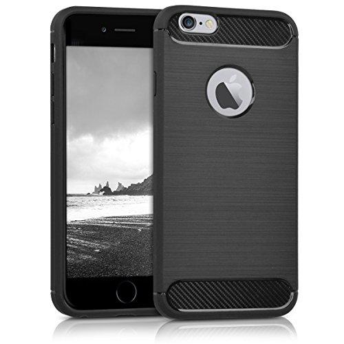 kwmobile Apple iPhone 6 / 6S Hülle - Handyhülle für Apple iPhone 6 / 6S - Handy Case in Anthrazit