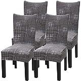 YISUN Universal Stretch Stuhlhussen 4er 6er Set Stuhlbezug für Stuhl Esszimmer Nordischen Stil