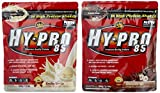 All stars Hy-Pro 85 Beutel 2er Mix Pack (2 x 500 g) Vanille/Schoko-Nuß, 1er Pack (1 x 1 kg)