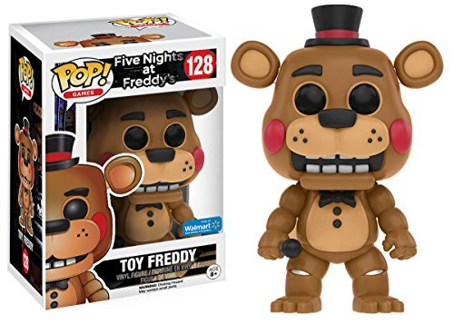 Funko Five Nights At Freddy's Toy Freddy Pop! Vinyl Exclusive