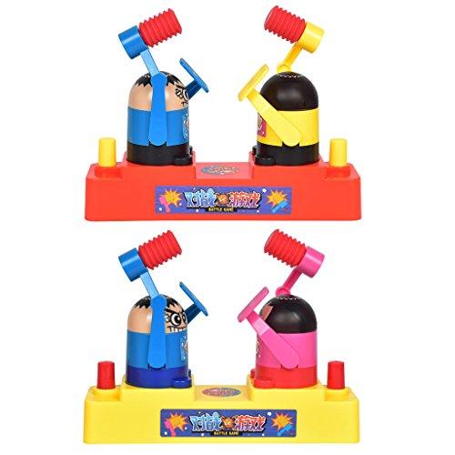 Jiamins Doppelpaar Kampf Spielzeug Rapping Hammer Head Offensive und Defensive Für Kinder Kind Geschenk