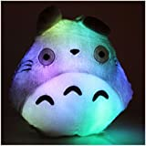 My neighbor Totoro LED Light Up 7 Colorful Pillow plush cushion RARE!