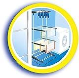 Vileda Viva Dry Multiflex Turmtrockner mit höhenverstellbaren und rausnehmbaren Trockenregalen - 5