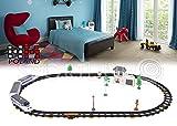 Modelleisenbahn Elektrische Lokomotive Eisenbahn schienen für Kinder