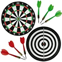 Unibos #1 Large Dartboard Double Sided Dart board with 6 Darts Party Game Set Doink It ***LIMITED TIME OFFER*** HURRY