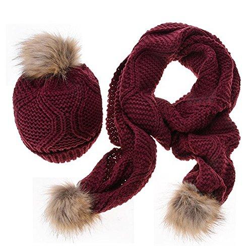 Bufandas Beb/é Amlaiworld Ni/ños ni/ñas linda bufanda Oto/ño invierno algod/ón O cuello anillo bufandas