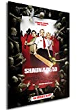Instabuy Poster Shaun of The Dead - Theaterplakat - A3 (42x30 cm)