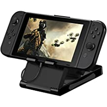 HITSAN Foldable Adjustable Angle Stand Holder Base For Nintendo Switch NS Game Console [video Game]