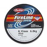 BERKLEY Filo Fireline Nylon trecciato mm. 0.12 (6LB) Crystal x m. 45