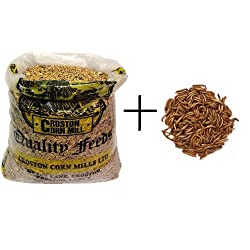 20kg *Wheatsheaf* Premium Wild Bird Food + 1Kg Dried Mealworms