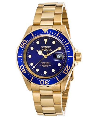 Invicta 17058 Pro Diver Reloj Unisex acero inoxidable Cuarzo Esfera azul