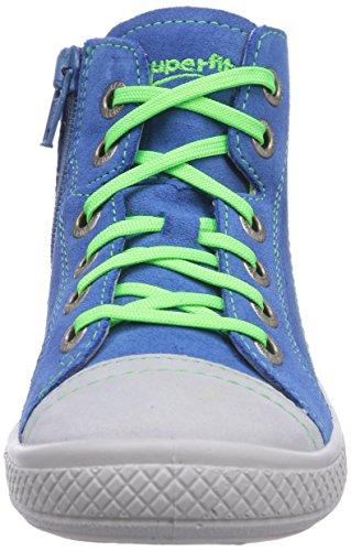 Superfit TENSY, Sneaker alta bambino Blu (Blau (DENIM KOMBI 94))