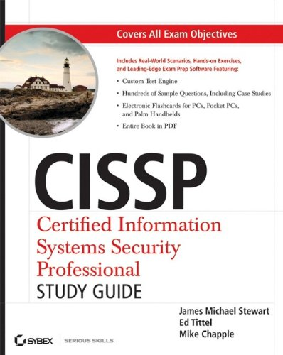 CISSP: Certified Information Systems Security Professional Study Guide por James M. Stewart