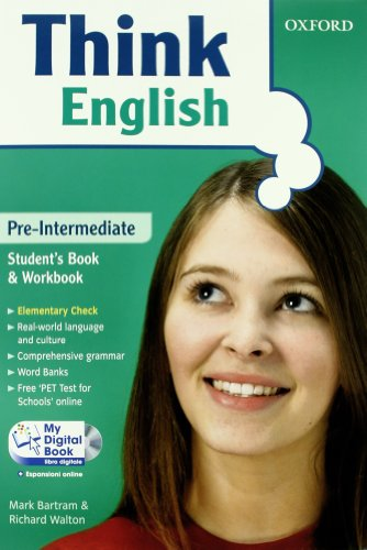 Think English. Pre-intermediate. Entry book-Student's book-Workbook-My digital book. Con espansione online. Per le Scuole superiori. Con CD-ROM