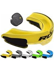 RDX Mouthguard Boxing Gum Shield Braces MMA Kickboxing Muay Thai Bite Guard Mouthpiece Mouth Protector Martial Arts Hockey Judo Karate Rugby