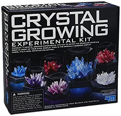 4M Crystal Growing Experimental Kit by Great Gizmos