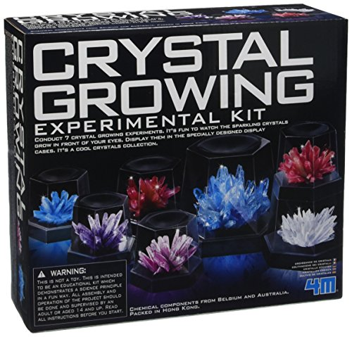 Great Gizmos 4M Crystal Growing Experiment Kit