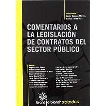 Comentarios a la Legislación de Contratos del Sector Público