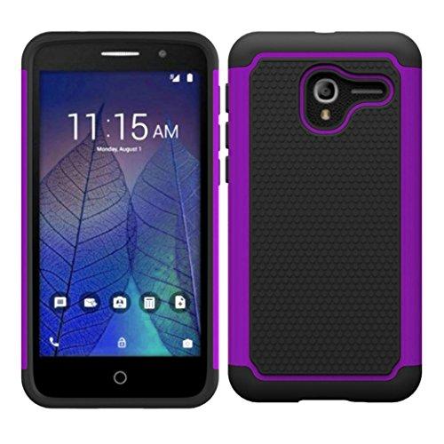 aobiny Handy Case Weiches Gummi Handy Hard Case Rückseite Hybrid Schutzhülle für Alcatel Stellar TRU, Violett (Samsung Galaxy Stellar Hard Case)
