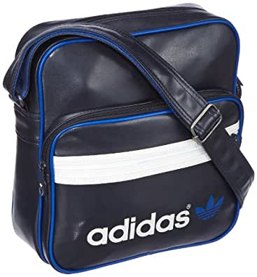 adidas Herren Umhängetasche AC Sir Bag, legend ink s10/white vapour s11, 28 x 11 x 30 cm, Z37353