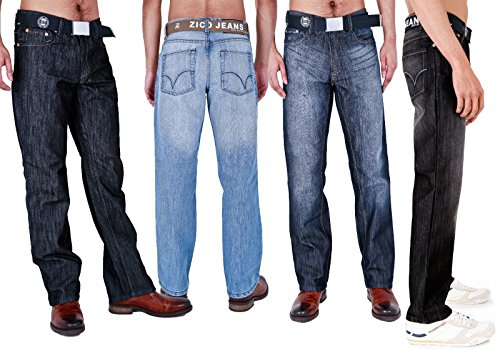 Arrested Development -  Jeans  - Straight  - Uomo Darkwash