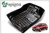 #2: Premium 5D Car Floor mats for Tata Tiago - Black