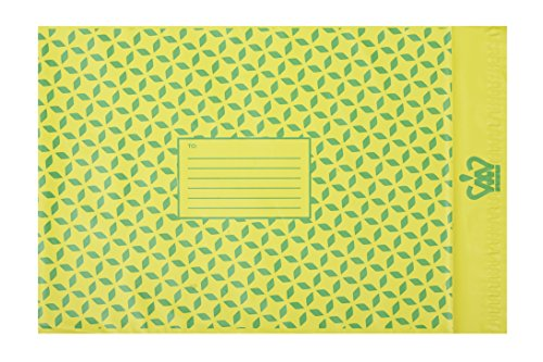 Grün/Gelb Best Versandbeutel by Die Original Funky Postsendungen bags-perfect bunt gemustert Geschenk Tasche für Schmuck, Kleidung, Mode items-large (30,5x 41cm) leicht und waterproof-pack von grün/gelb Besten China-grün