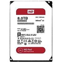 WD Red 8TB interne Festplatte SATA 6Gb/s 128MB interner Speicher (Cache) 8,9cm 3,5Zoll 24x7 5400Rpm optimiert für SOHO NAS Systeme 1-8 Bay HDD Bulk WD80EFZX