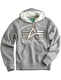 Alpha industries-big a 20408 vintage sweat-shirt à capuche pour homme