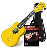 Classic Cantabile Soprano US-100 YE Ukulélé jaune
