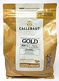 Callebaut Gold 30.4% - Feinste belgische Karamellschokolade Chips (Brocken) 2,5kg